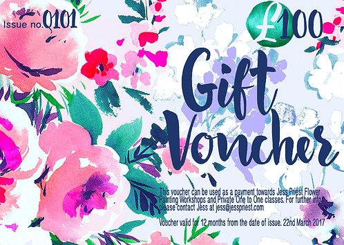 Bespoke Gift Voucher