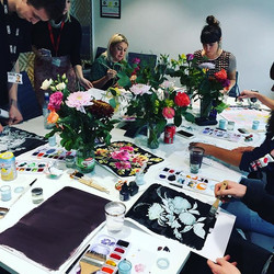 ASOS Flower painting workshop. The best thing to unwind on a Friday afternoon.jpg