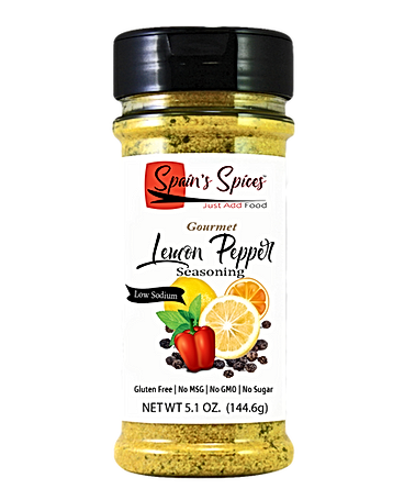 Spain's Spices Lemon Pepper