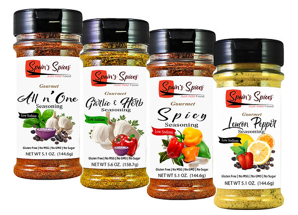 Spain's Spices, Gift Set, Pack of 4