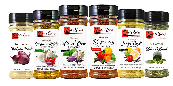 Spain's Spices, Gift Set, Pack of 6
