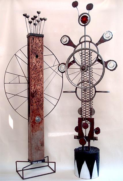 Tower Sculptures