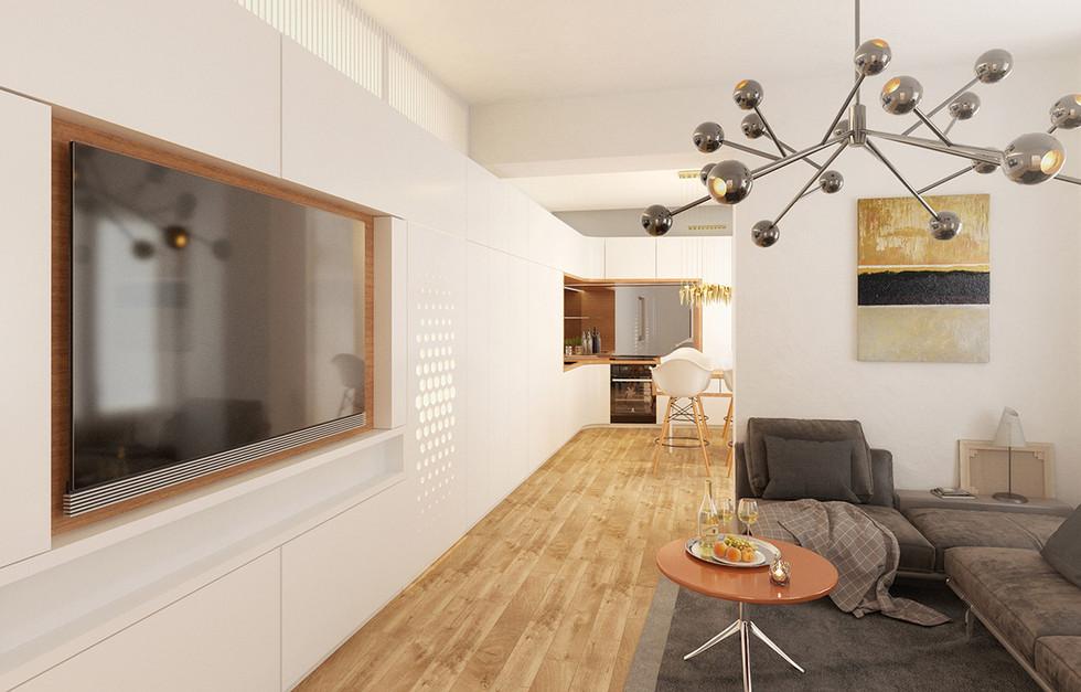 Wohnzimmer / Wien