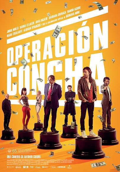 Cartel Operación Concha