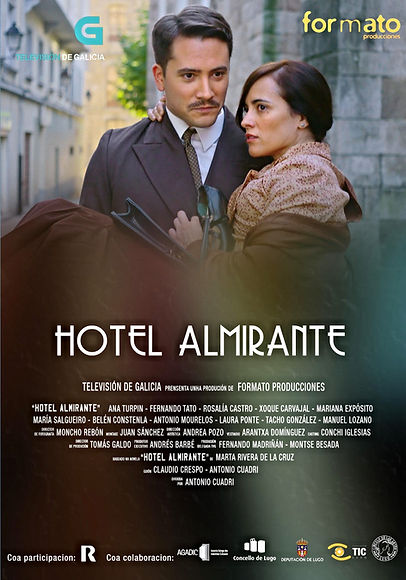 Cartel Hotel Almirante