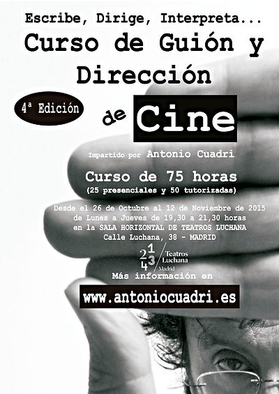 Cartel Curso Madrid