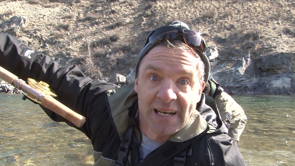 fly Fishing in waders does have risks.