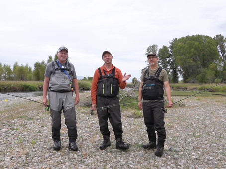 A Fly Fishing Show for Working Men