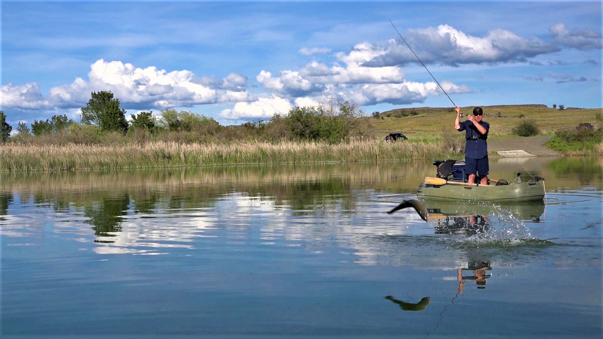 Fly Fishing Washington State Sprague Lak