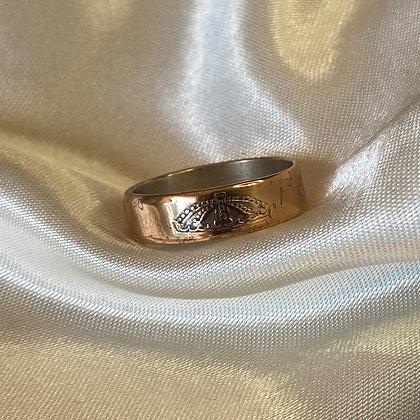 1959 Denmark 5 Ore Coin Ring