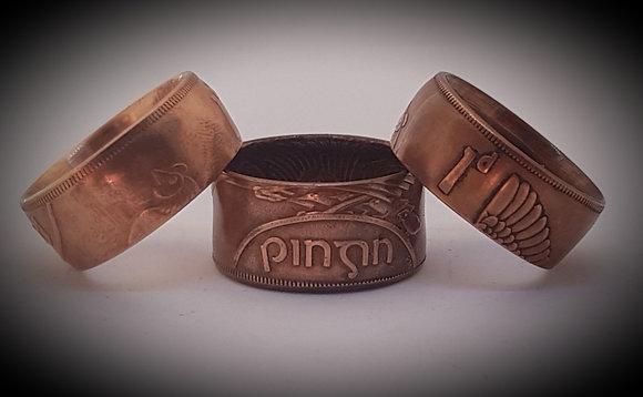 Irish Pingin Coin Ring