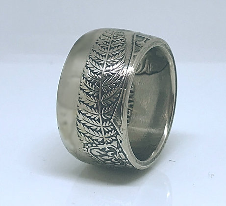 New Zealand One Dollar Coin Ring