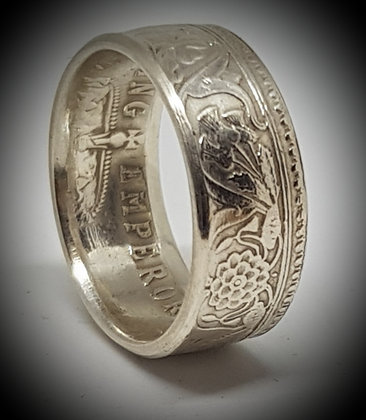 Indian One Rupee Coin Ring
