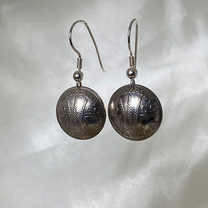 1955 Australian Threepence Earrings
