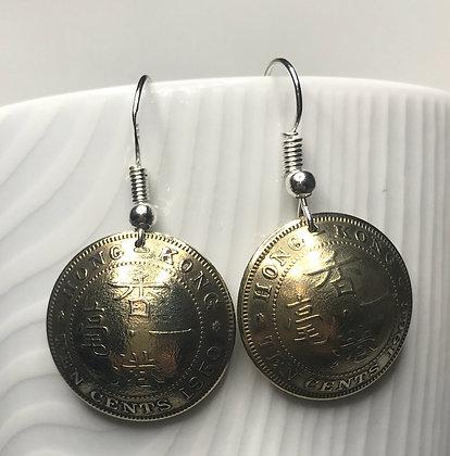 HongKong 10 Cent Earrings