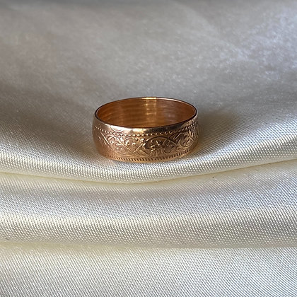 1932 Indian One Pice Coin Ring