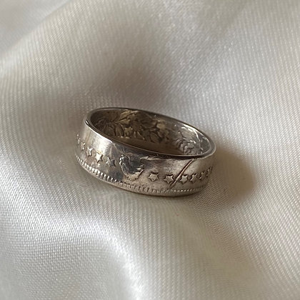 1920 Swiss Franc Coin Ring