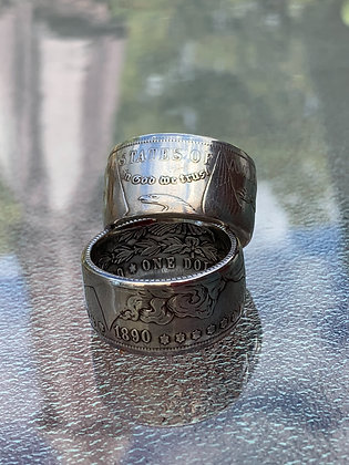 US Morgan Dollar Coin Ring