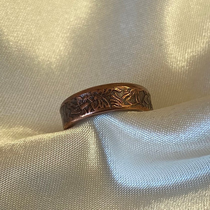 NSW Holey Dollar Coin Ring