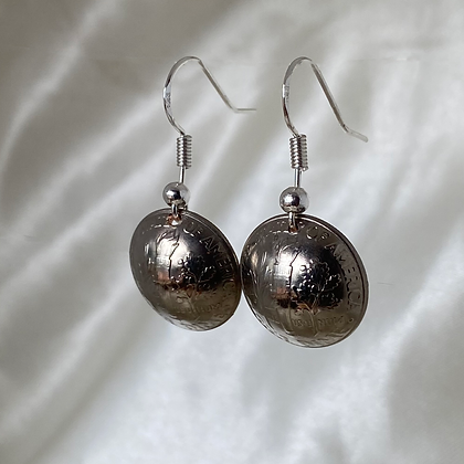 2001 and 2003 US Dime Earrings