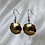 Thumbnail: 1955 Ceylon 2 Cents Earrings