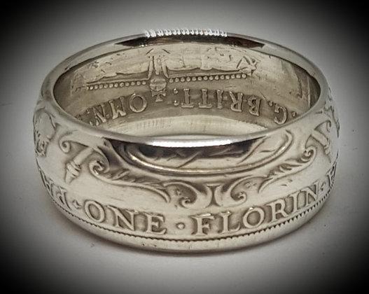 Australian Florin Coin Ring