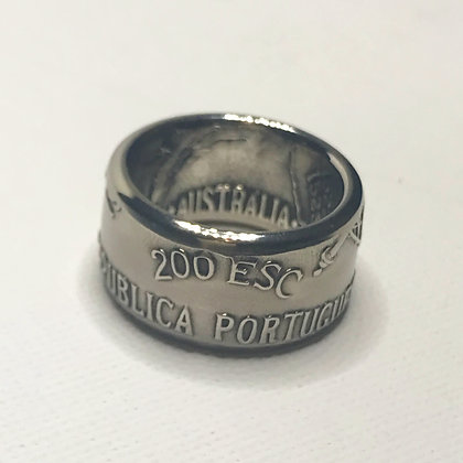Portugal 200 Esc  Coin Ring