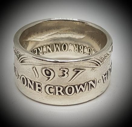 Australian Crown Coin Ring