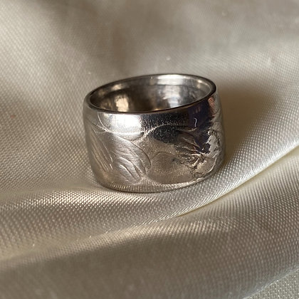 1973 UK 50 Pence Coin Ring
