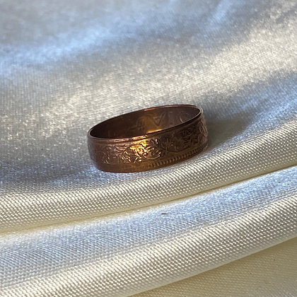 1944 Indian One Pice Coin Ring