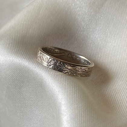 1962 Swiss Franc Coin Ring