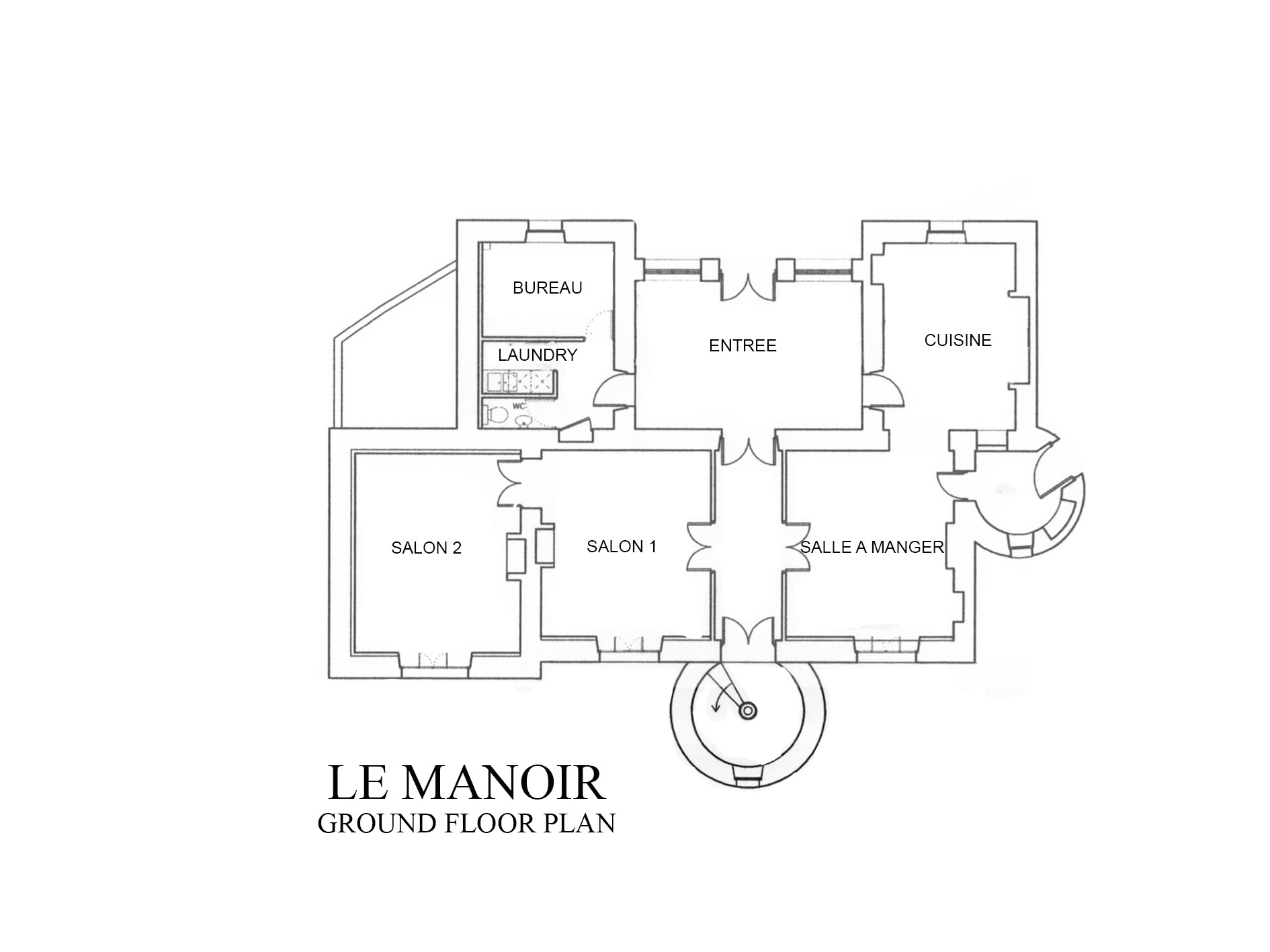 LE MANOIR GROUND FLOOR PLAN