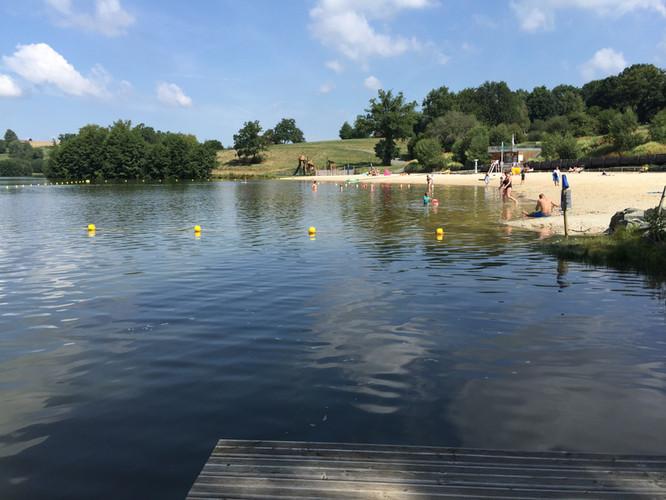 Rouffiac Lake Swimming