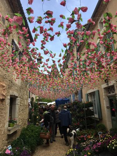 St Jean de Cole - Floralies flower show