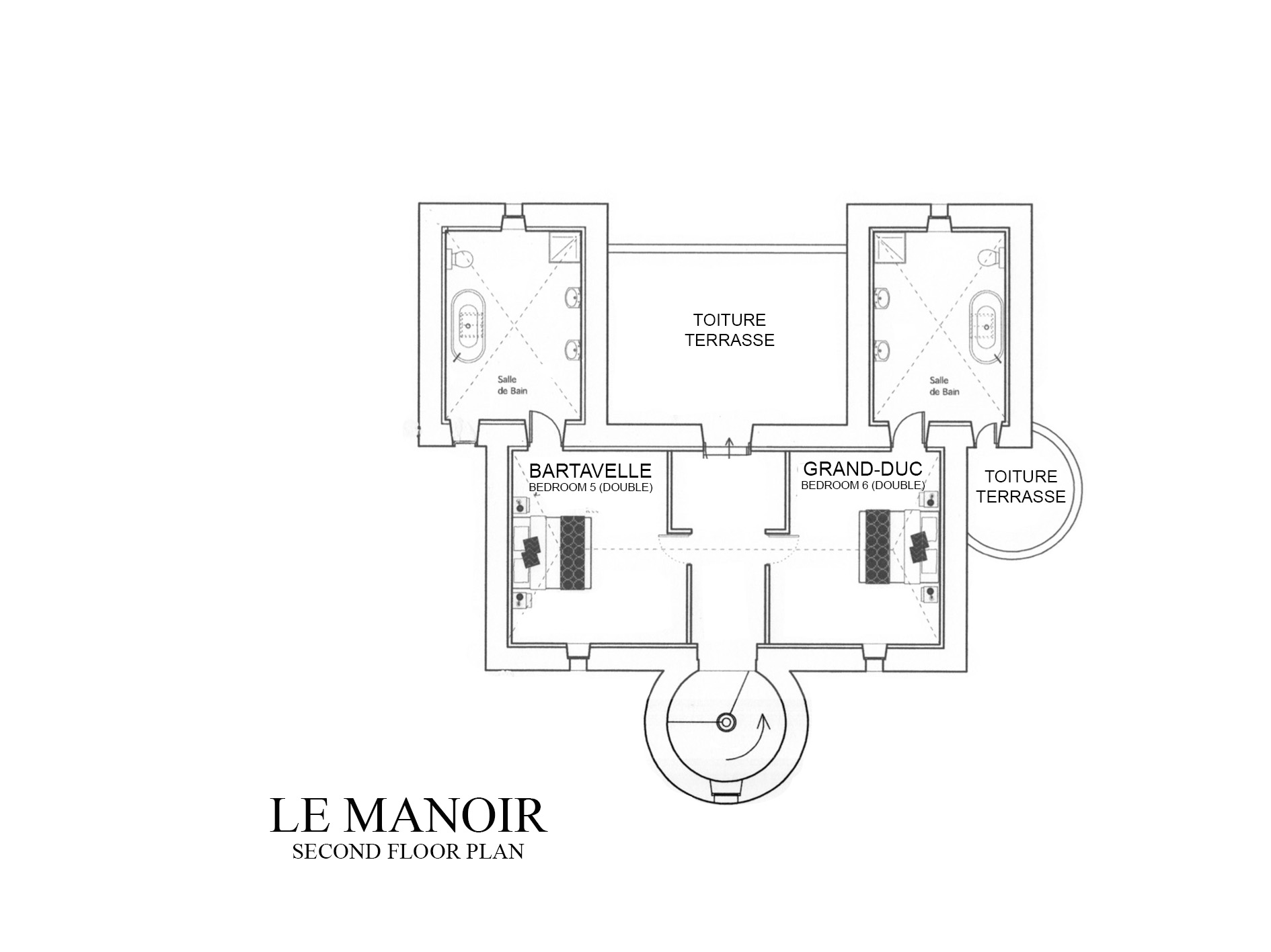 LE MANOIR FLOOR PLAN - 2