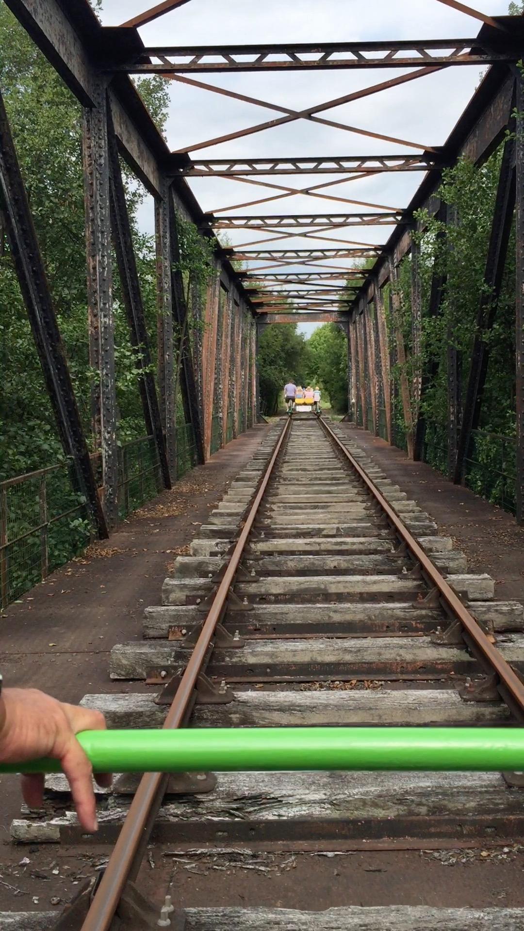 Velo-Rail Corgnac sur l'Isle