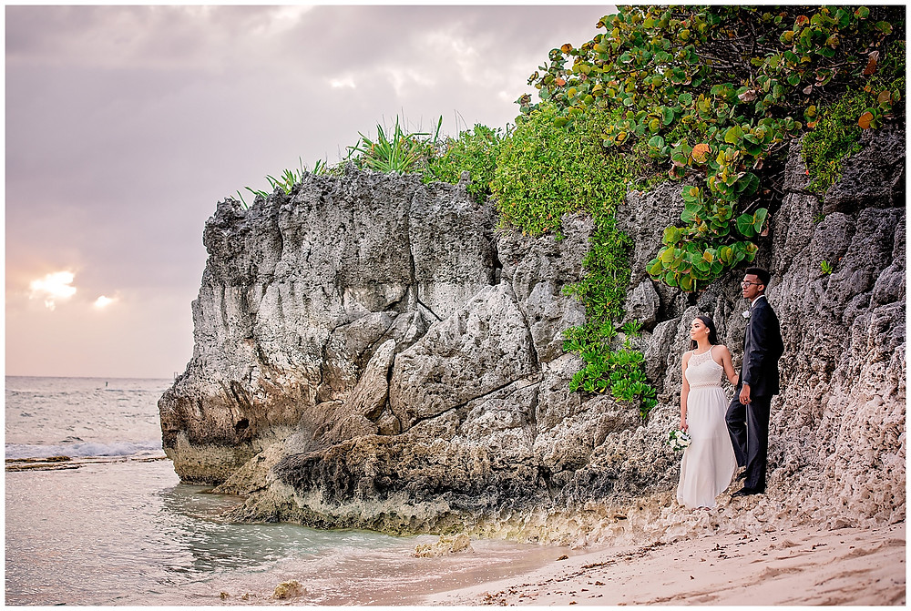 Marshanni and Jerome Cayman Wedding Photography - Spott's Public Beach