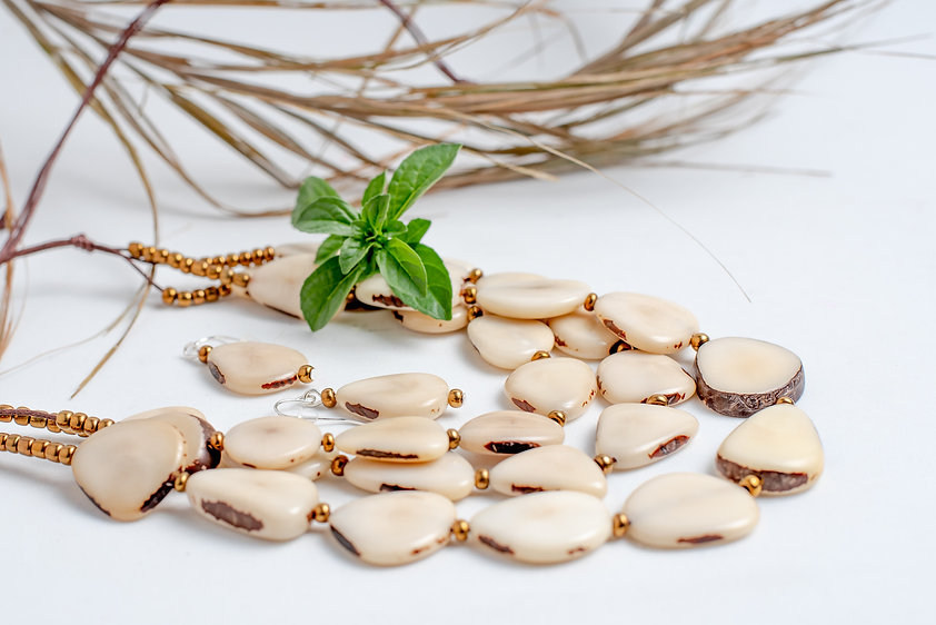 Ivory Tagua Necklace