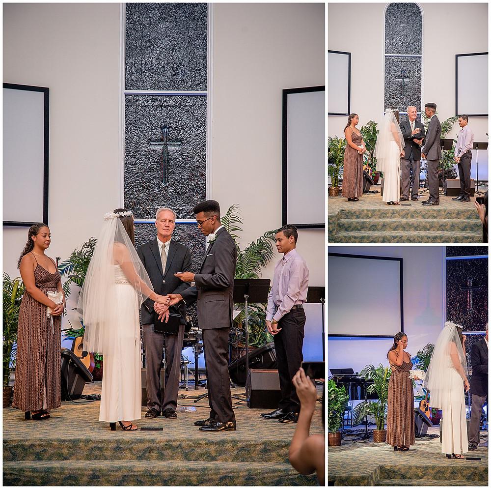 Marshanni and Jerome Cayman Wedding Photography - Ceremony