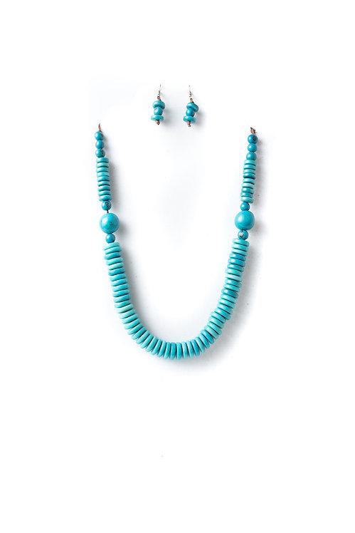 Camila II Necklace | Blue