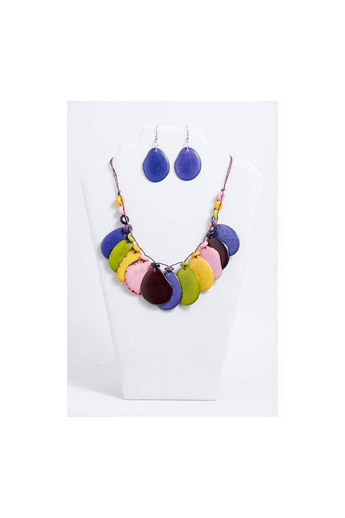 Celeste Necklace Set | Multi V