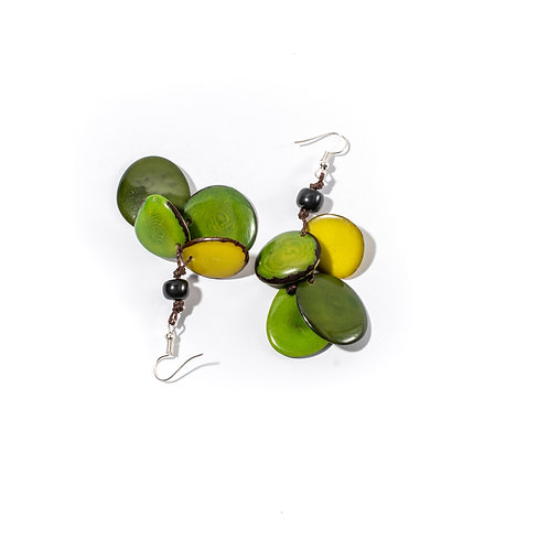 Calypso Earrings | Yellow-Green