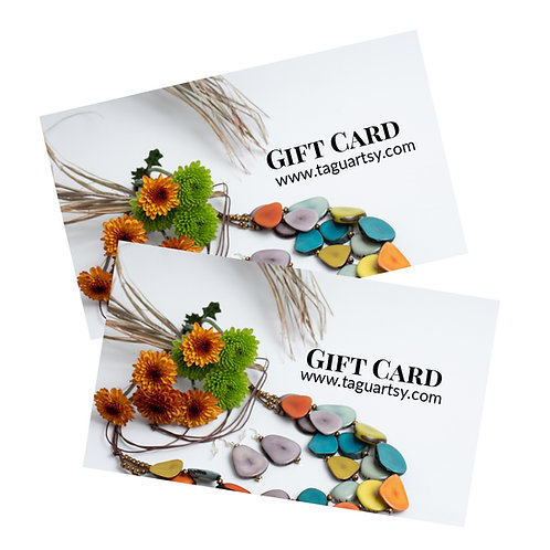 gift card eco-friendly