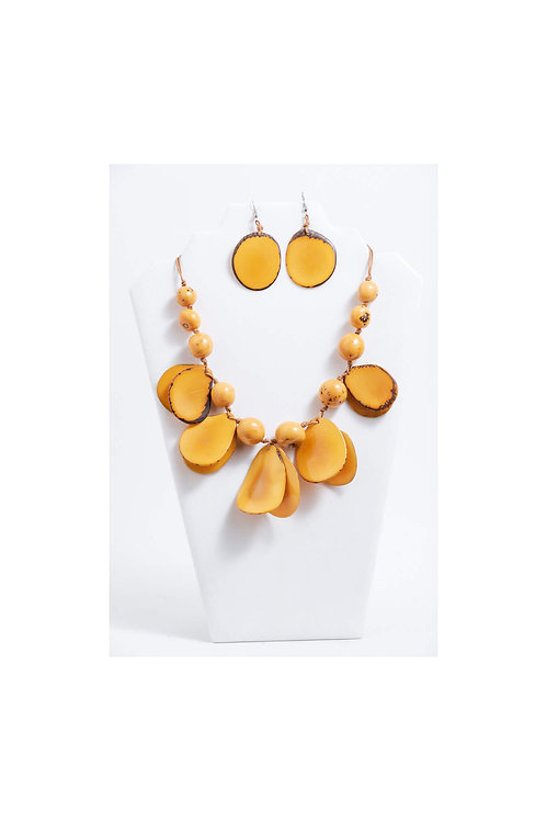 Kelsie Necklace Set | Yellow