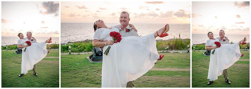 Pedro St. James Grand Cayman Wedding: Yolita and Gary
