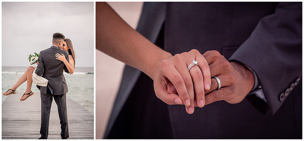 Marshanni and Jerome Cayman Wedding  - Rings