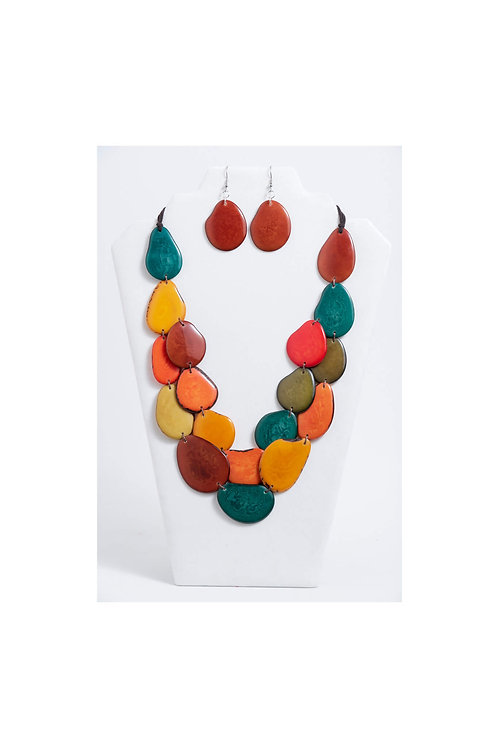 Amoya Necklace Set | Multi III