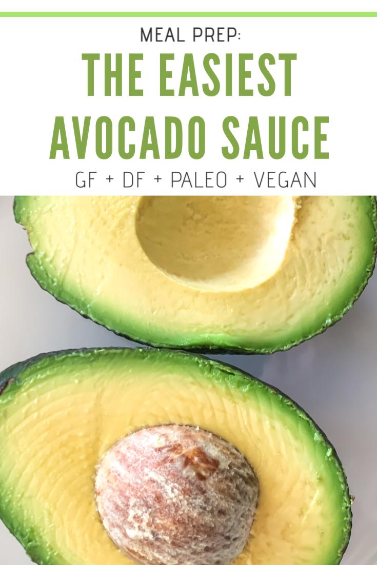easy avocado dressing recipe