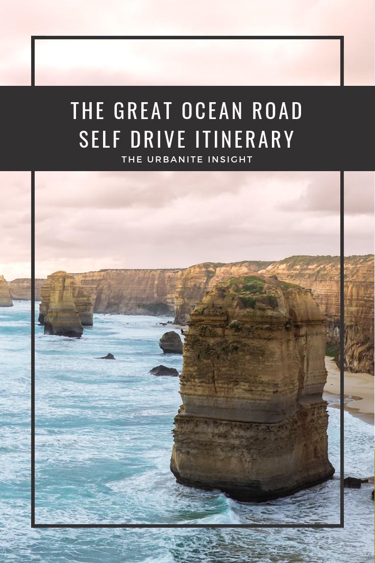 self drive itinerary great ocean road