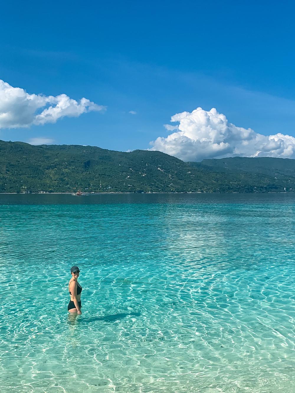 Sumilon oslob beach